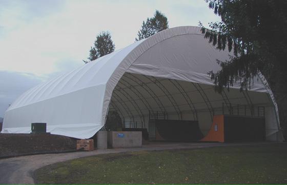 Clatskanie Indoor Skatepark Oregon