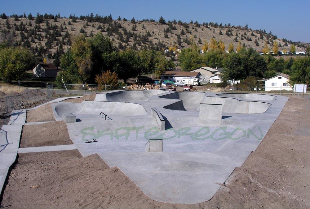 Skateoregon Madras Oregon Bike And Skatepark 2005